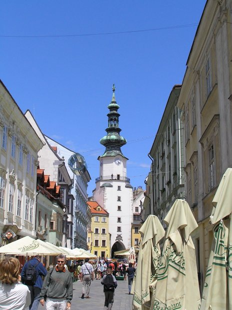Bratislava Šv. Mykolo gatvė