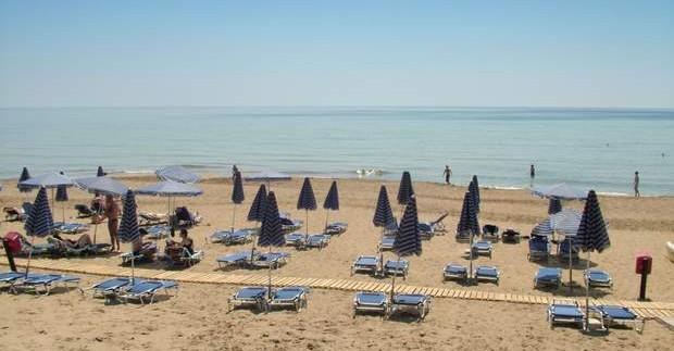 Kurortai ir paplūdimiai Korfu saloje