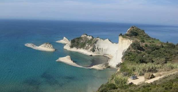 Kurortai ir paplūdimiai Korfu saloje - Sidari ir Acharavi
